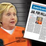 Jail for Hillary?
