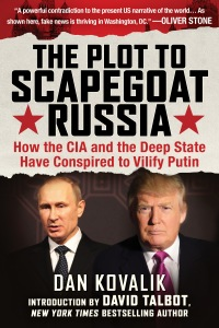 Plot to Scapegoat Russia book cover