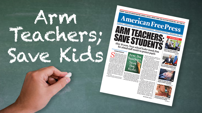 Arm taechers save kids
