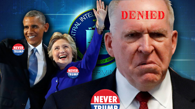 John Brennan security clearance