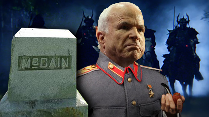 Warhawks Leaderless without McCain