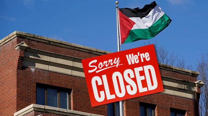 State Dept. Closes PLO Office
