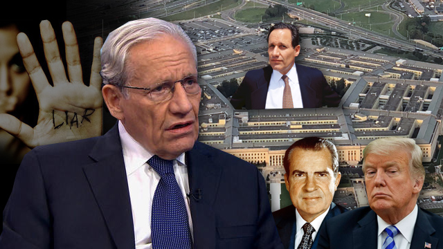Bob Woodward, Deep State Water Boy