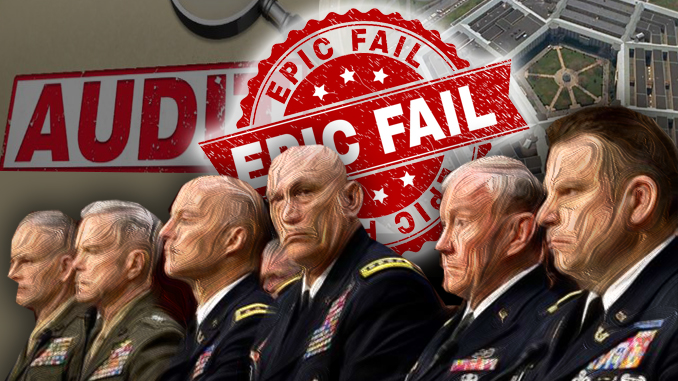 Pentagon audit fail