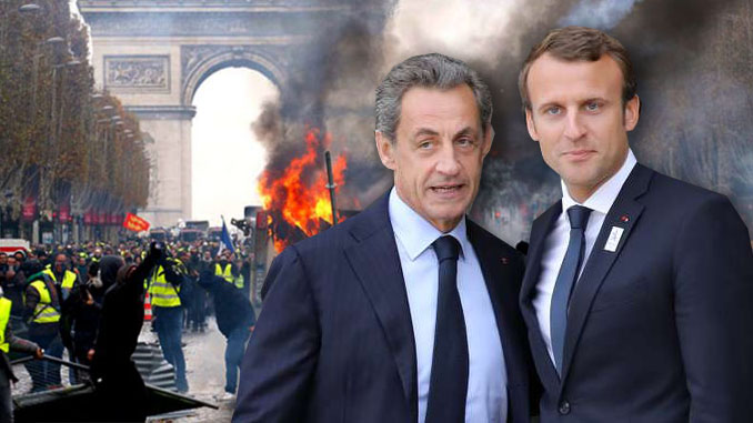 Macron turns to Sarkozy