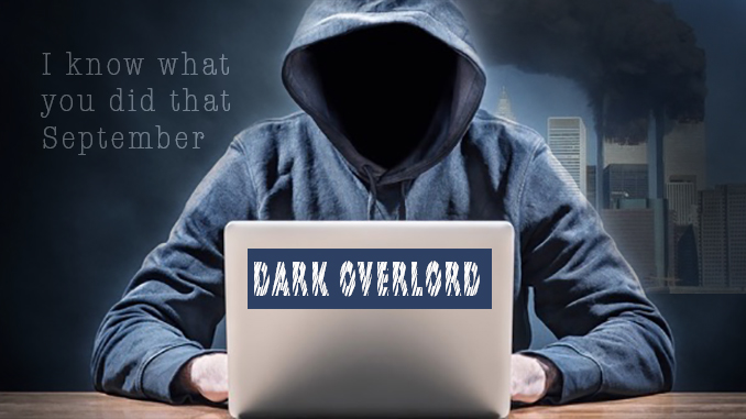 Dark Overlord to reveal 9/11 secrets