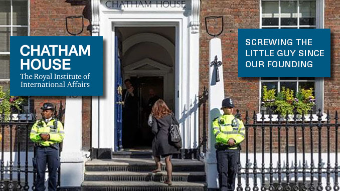 Chatham House Globalists