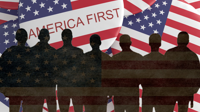 America-firsters gather