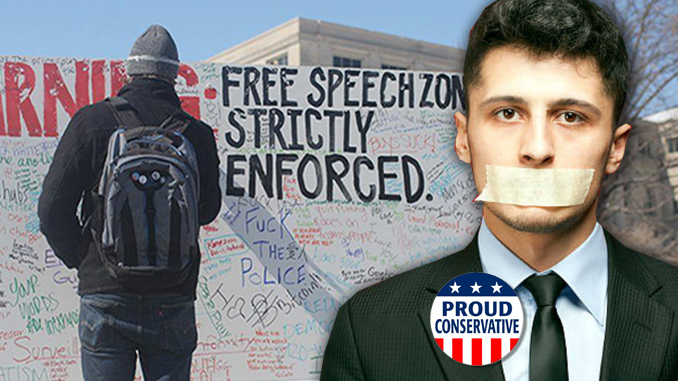 free speech on campus dead