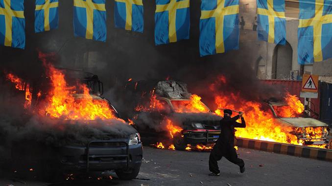 Swedish migrant violence
