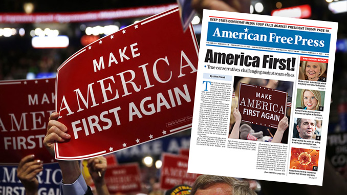 America First challenging elite