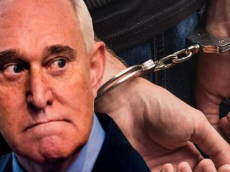 Handcuffing Roger Stone