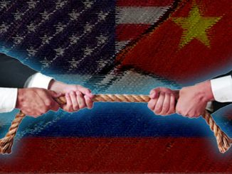 Russia China US Tensions