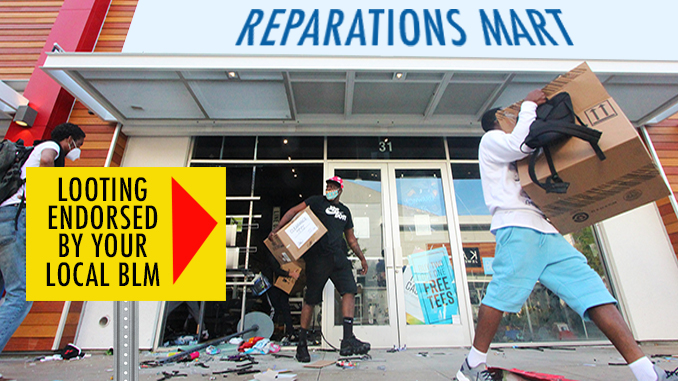 Looting as Reparations