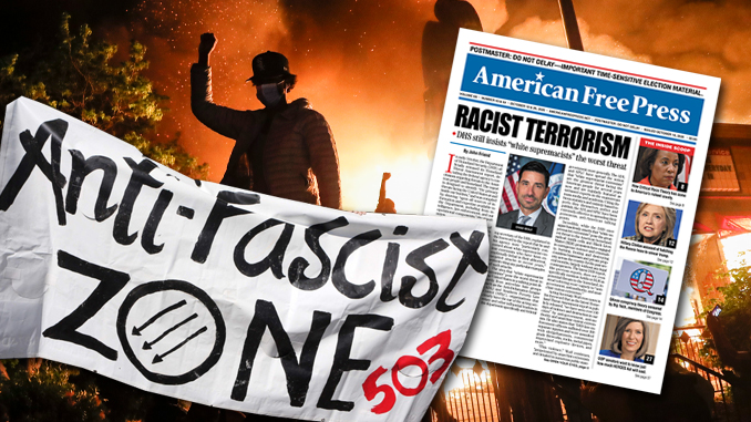 Racist Terrorism front page