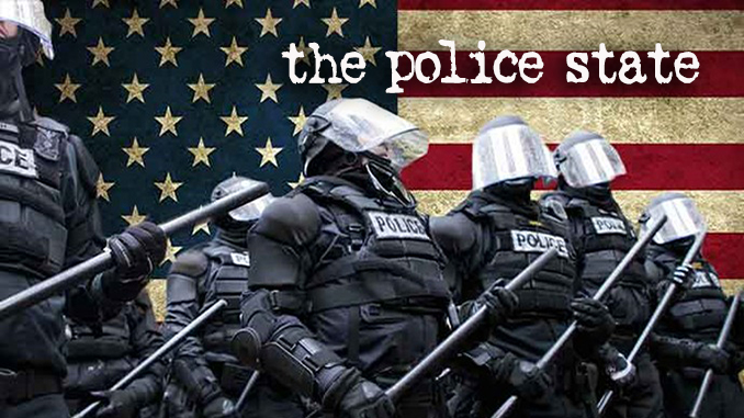 Police State articles banner