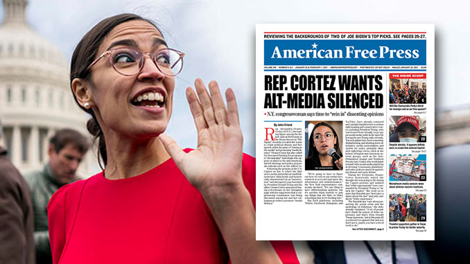 Cortez Wants Censorship
